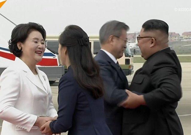 Przywódca Korei Południowej w KRLD