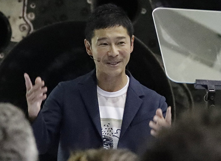 Japoński miliarder Yusaku Maezawa