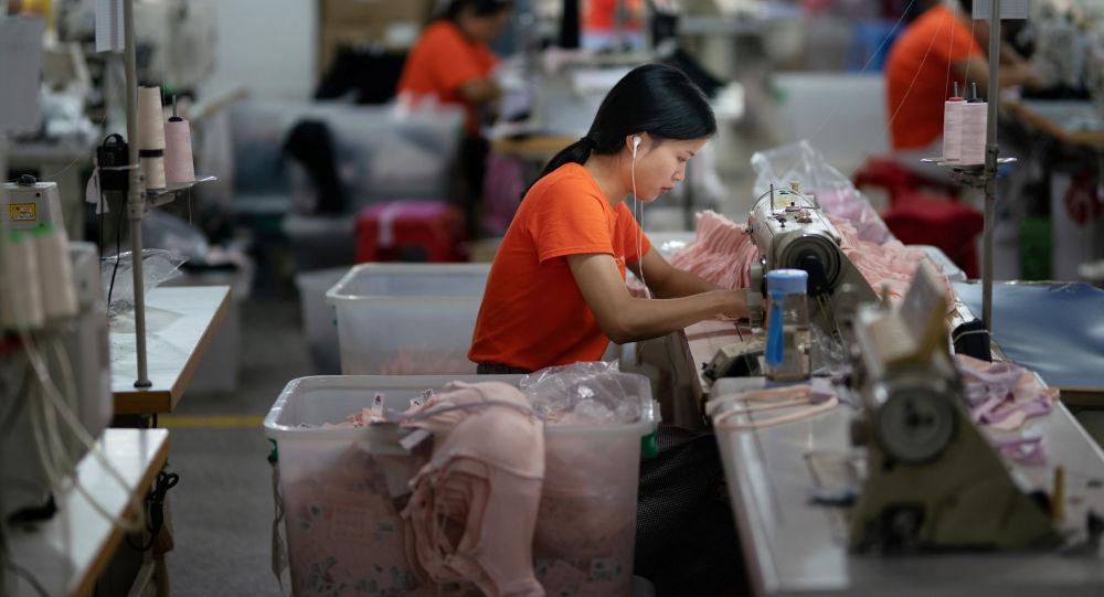 Szwalnia w chińskim mieście Dongguan