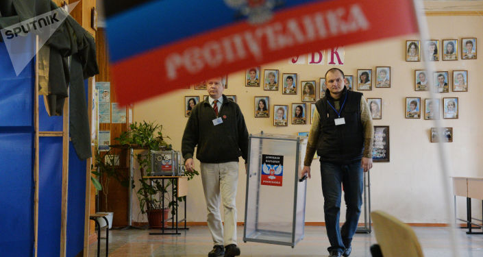 Wybory w Doniecku