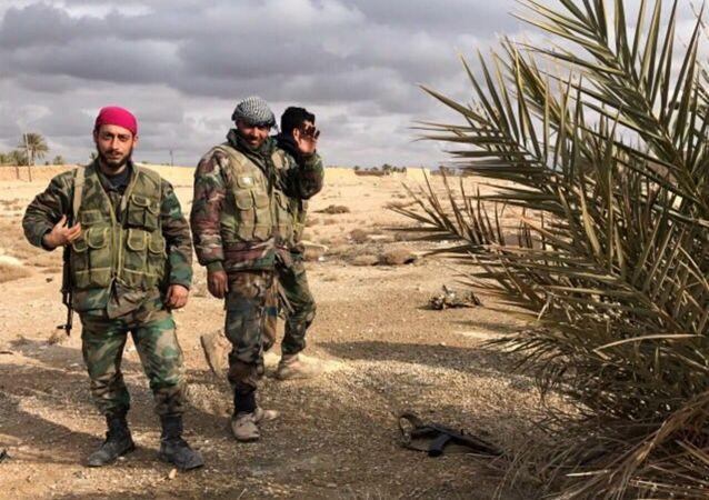 Syryjskie wojska rządowe