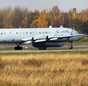 Samolot Ił-20. Zdjęcie archiwalne