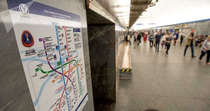 Metro w Petersburgu