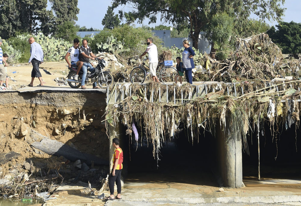 Powódź w Tunezji