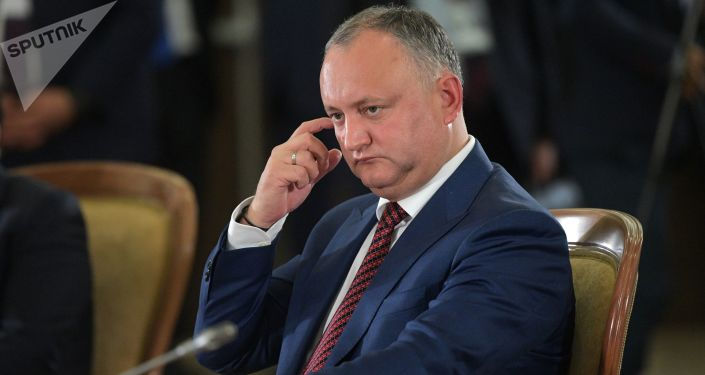 Prezydent Mołdawii Igor Dodon