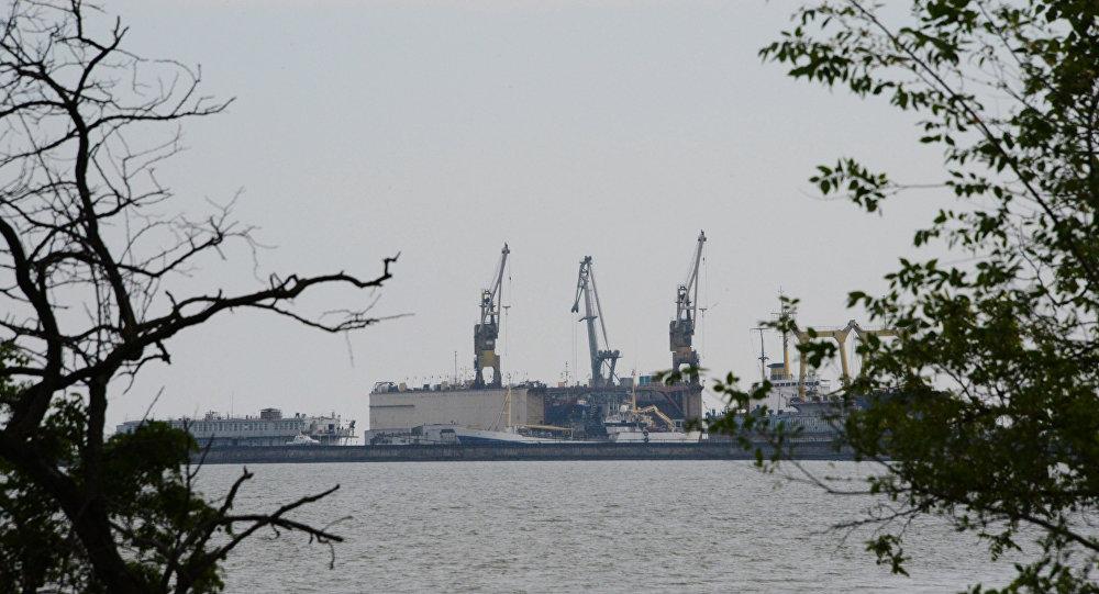 Port w Mariupolu