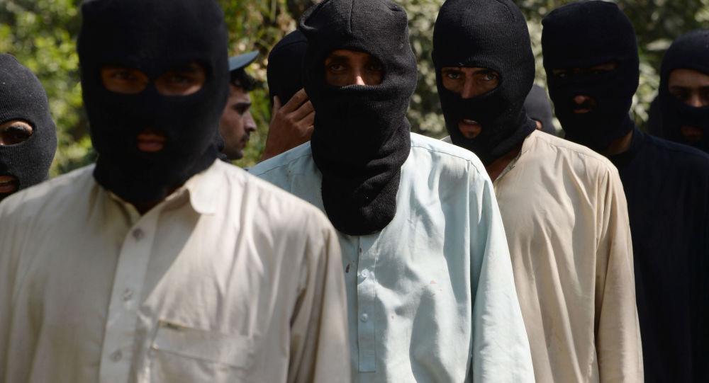 Terroryści organizacji terrorystycznej Państwo Islamskie zakazanej w Rosji