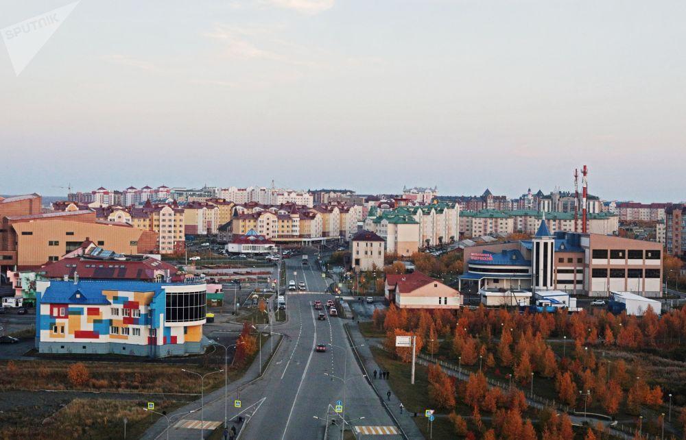 Nowa dzielnica w Salechardzie