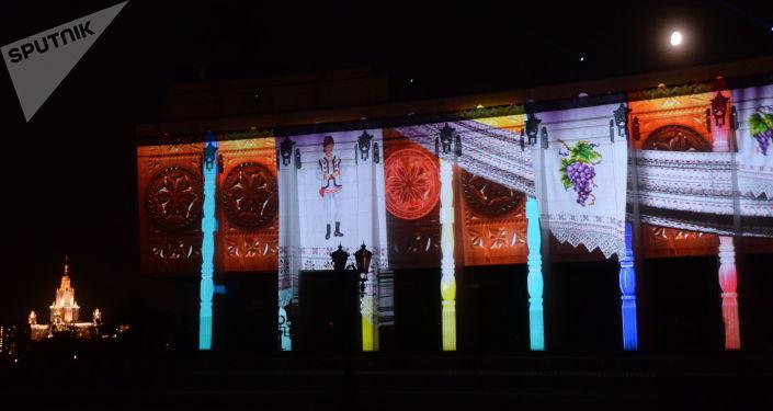 Festiwal Krąg Światła w Moskwie