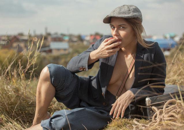 Sesja zdjęciowa Siergieja Suchowieja