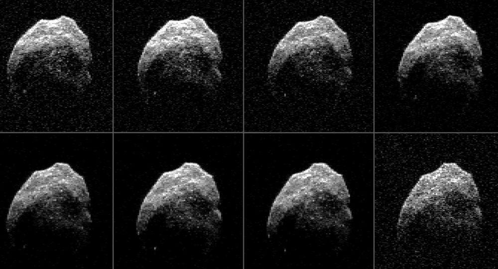 Kometa asteroida sfotografowana przez teleskop Green Bank, 2015