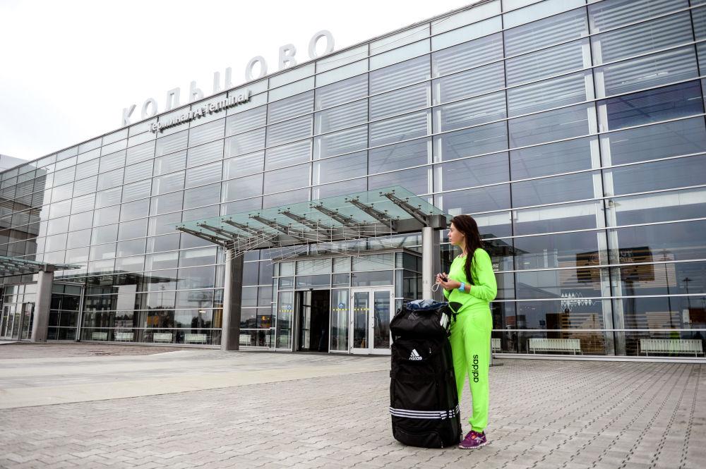 Lotnisko Kolcowo w Jekaterynburgu