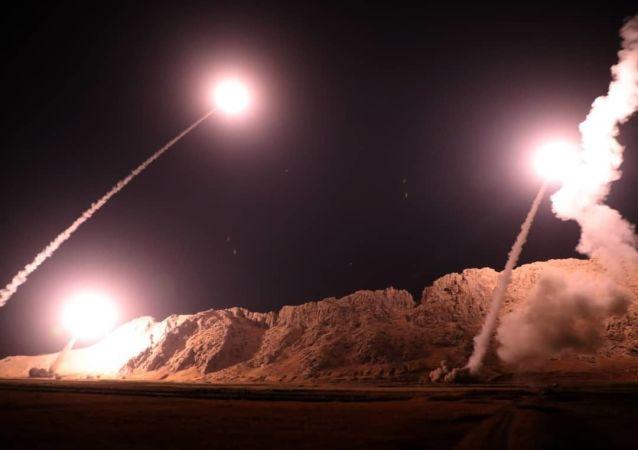 Atak rakietowy na pozycje terrorystów zakazanej w Rosji organizacji Daesh z Iranu