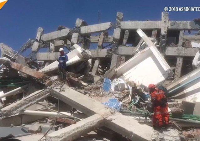 Trzęsienia ziemi i tsunami w Indonezji
