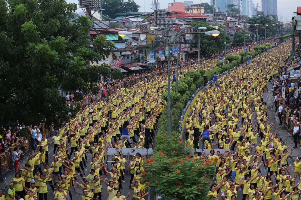 Tancerzy Zumby na Filipinach