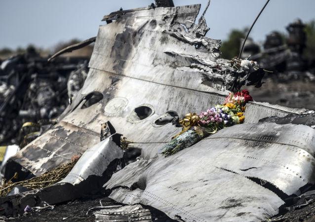 Fragmenty malezyjskiego Boeinga 777 w obwodzie donieckim