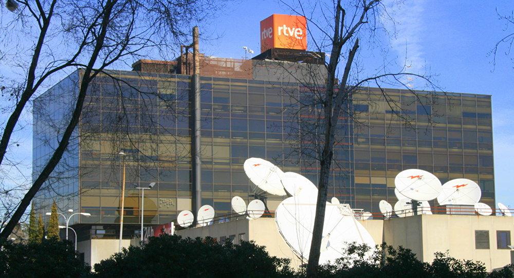 Budynek hiszpańskiej korporacji telewizyjnej RTVE