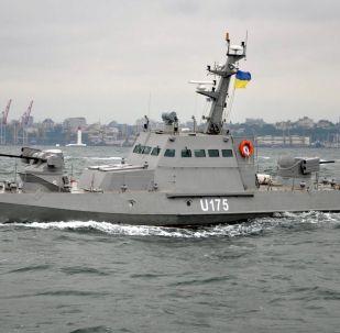 """Kuter pancerny projektu 58155 """"Gurza-M"""" Marynarki Wojennej Ukrainy"""