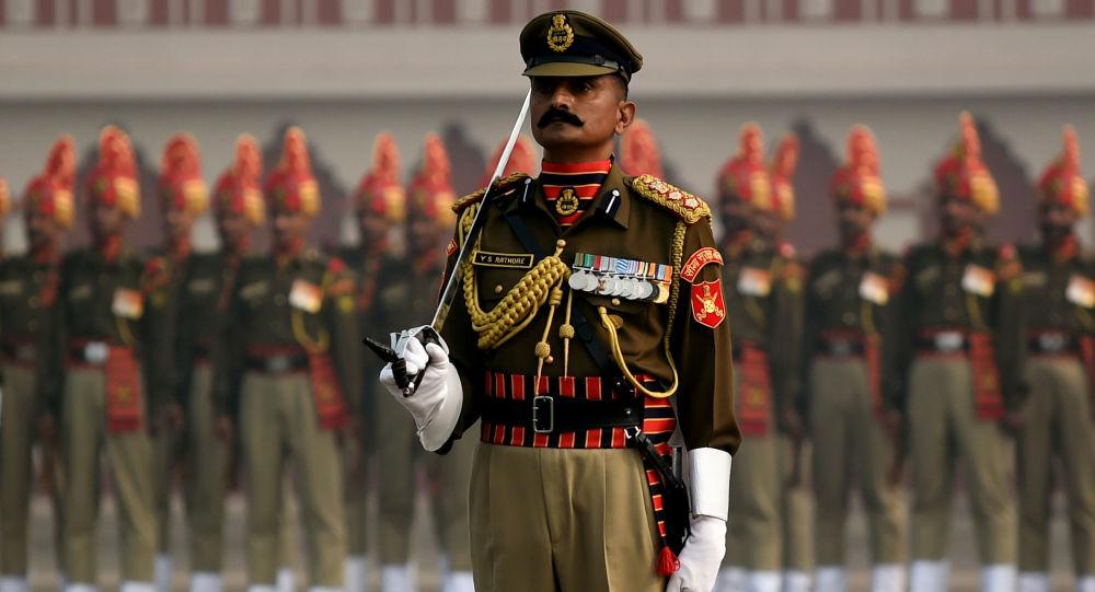 Parada wojskowa w Nowym Delhi