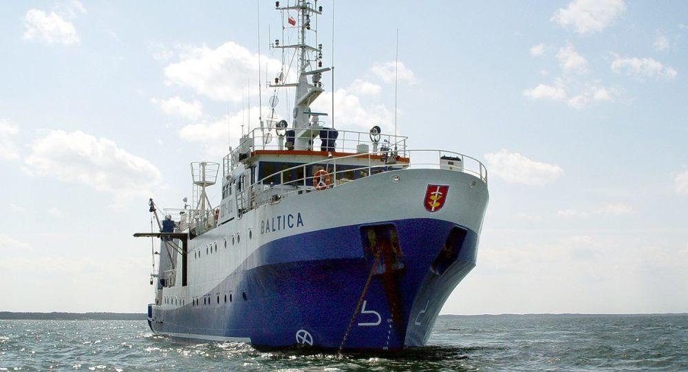 Polski statek badawczy Baltica
