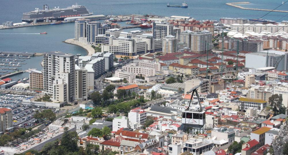 Widok na Gibraltar