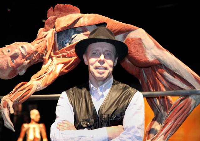 Niemiecki anatom Gunther von Hagens