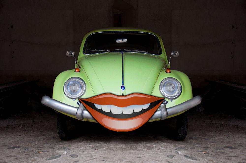 Uśmiechający się Żuk