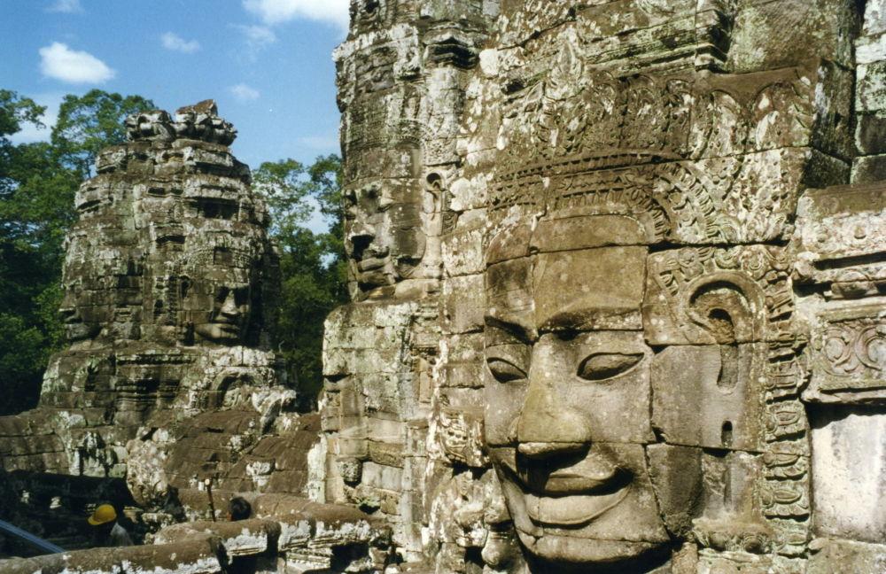 Ruiny Angkor w Kambodży