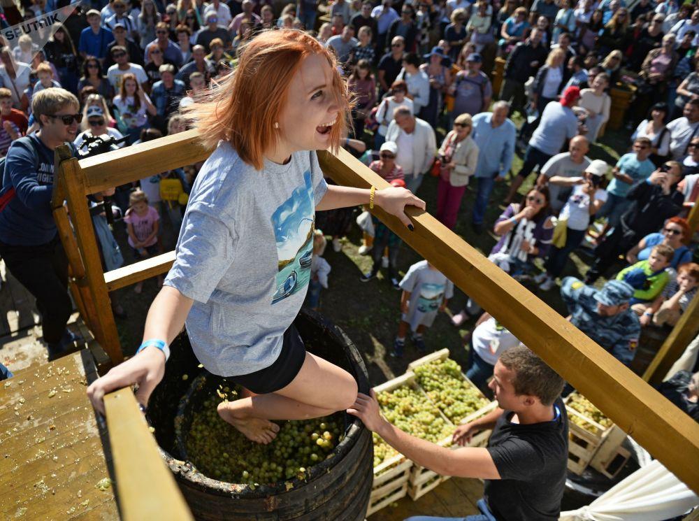 Festiwal młodego wina «WineFest» na Krymie