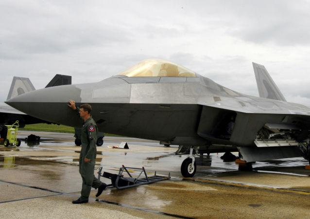 Amerykański myśliwiec F-22 Raptor