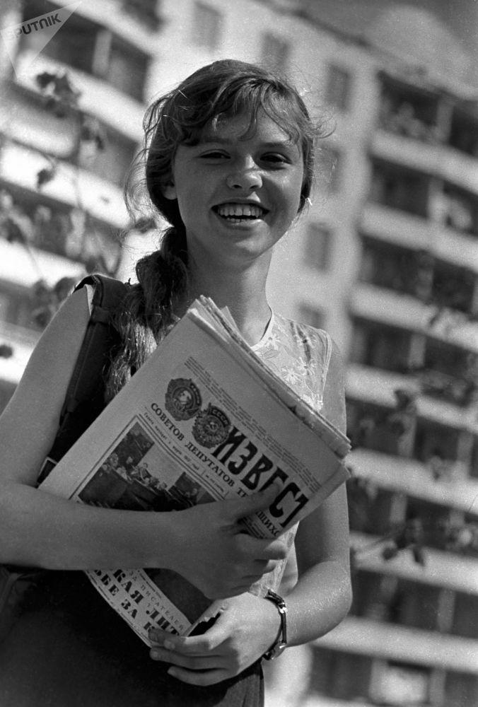 Moskiewska listonoszka, 1972 rok