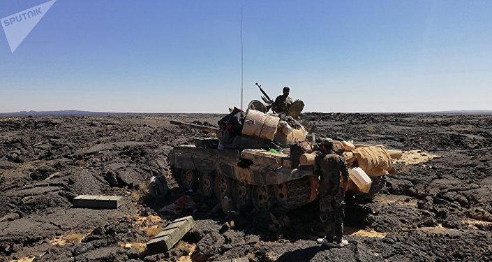 Syryjska armia walczy z terrorystami