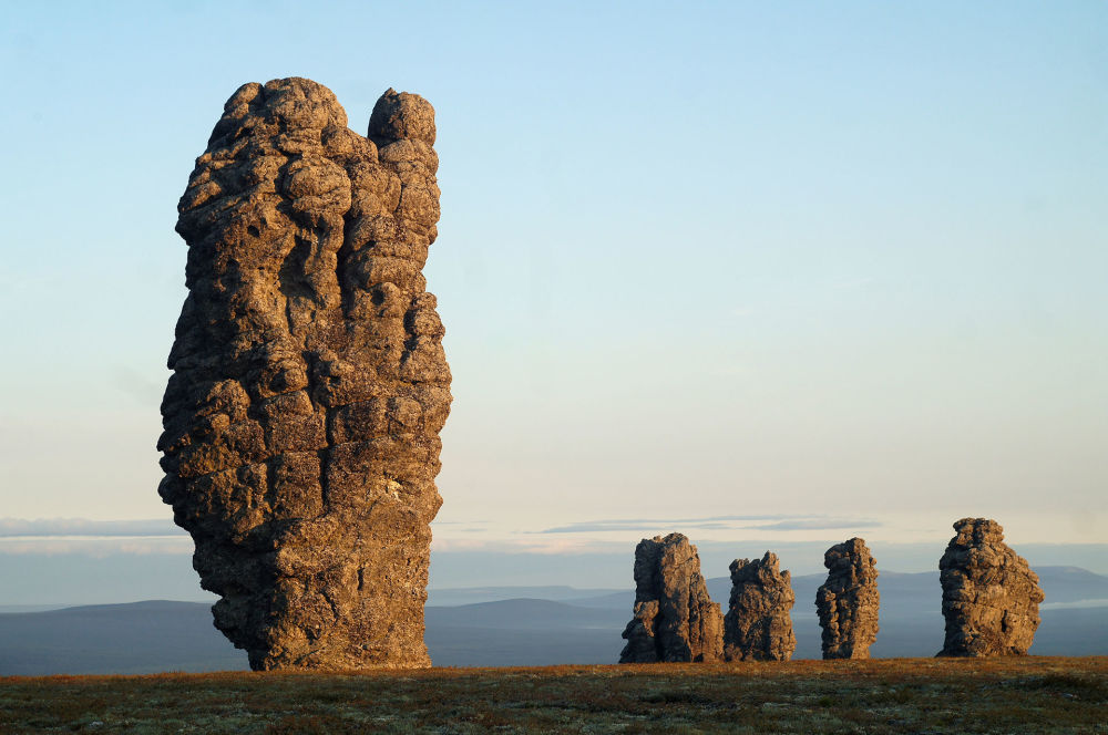 Formacje Manpupuner, Rosja