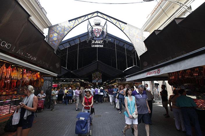 Rynek La Boqueria, Barcelona