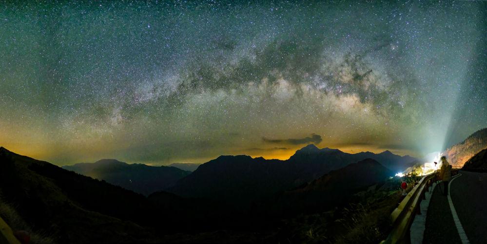 Droga Mleczna w Tajwanie