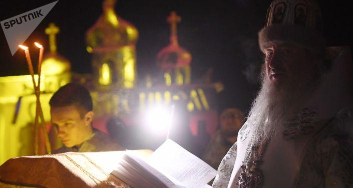 Przedstawiciel Rosyjskiej Cerkwi Prawosławnej