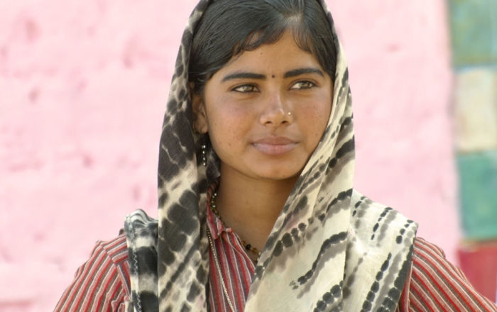 Kobieta z plemienia Bandżara w Indiach