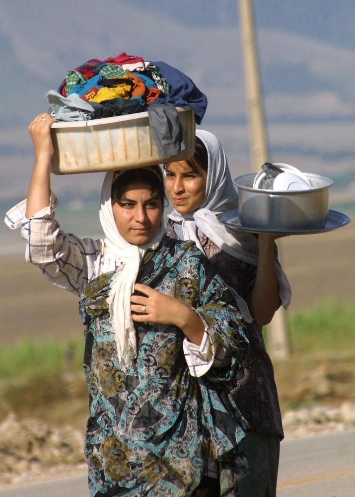 Iranki ze wsi Chagher