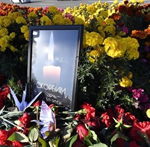 Żałoba w Kerczu dla uczczenia ofiar masowego zabójstwa