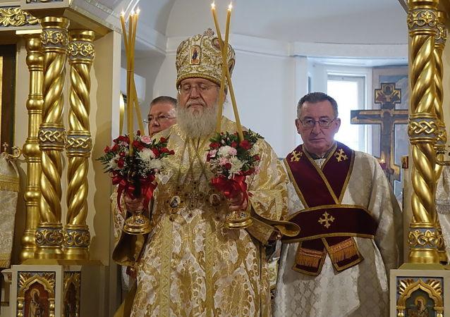 Biskup Rosyjskiego Kościoła Prawosławnego poza granicami Rosji metropolitan Hilarion