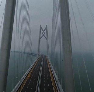 Najdłuższy  na świecie most morski