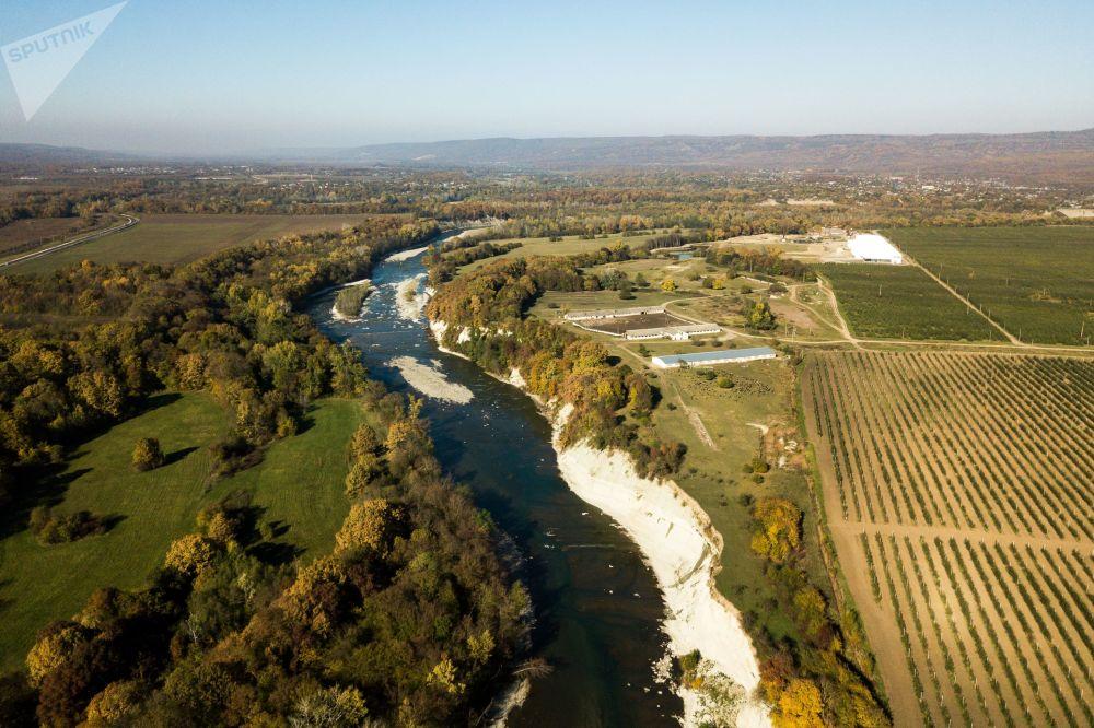 Rzeka Biała w Republice Adygei