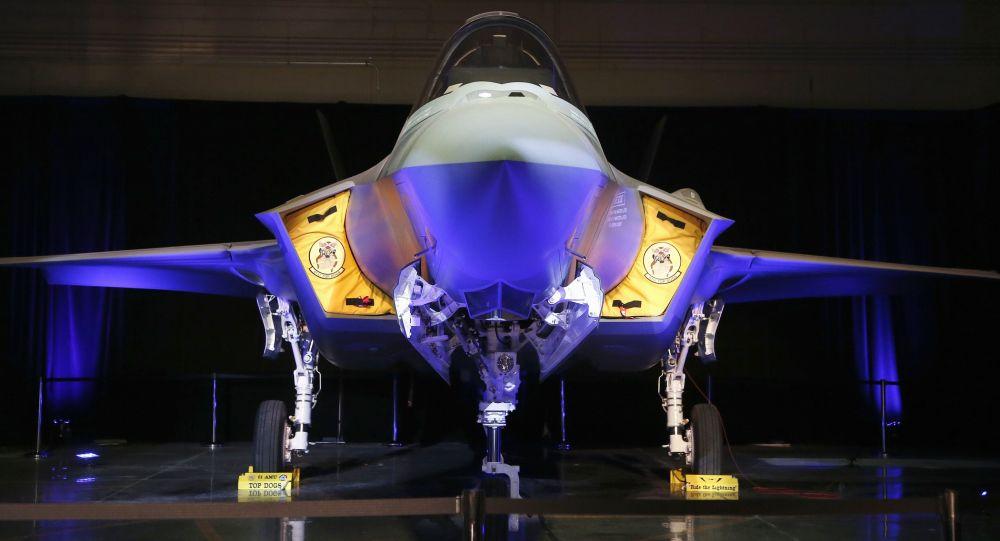 Amerykański myśliwiec F-35A Lightning II