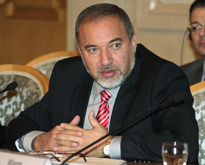 Minister spraw zagranicznych Izraela Awigdor Lieberman