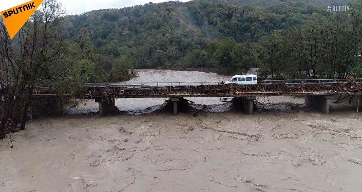 Powódź w kraju krasnodarskim