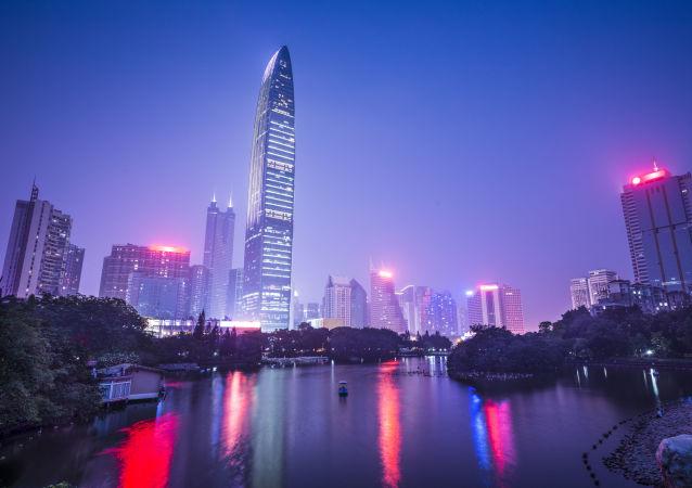 Shenzhen – miasto w południowo-wschodnich Chinach