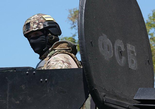 Szkolenia FSB na Krymie