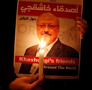 Saudyjski dziennikarz Dżamal Chaszodżdżi