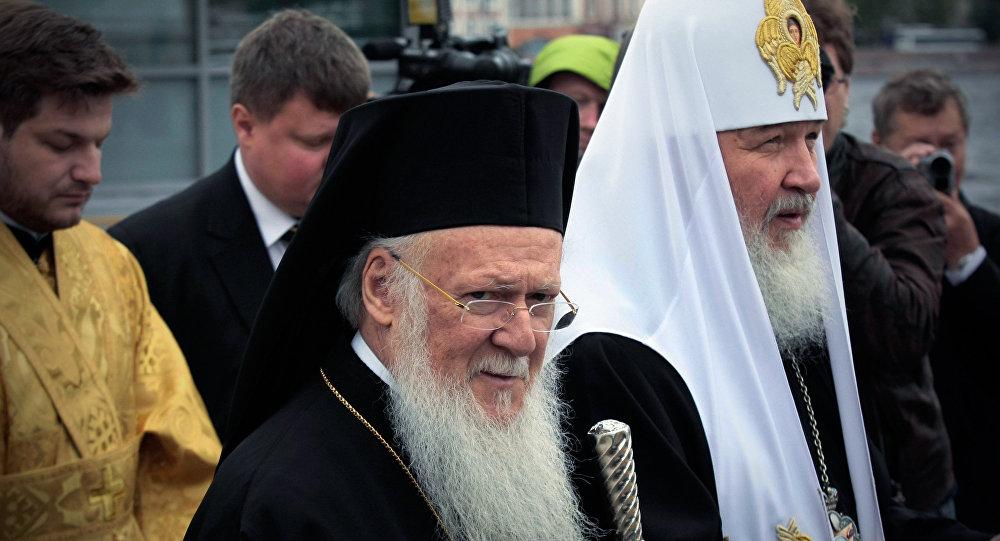 Wizyta patriarchy Bartłomieja w Petersburgu