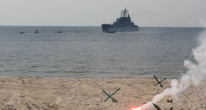 Manewry Floty Bałtyckiej w obwodzie kaliningradzkim